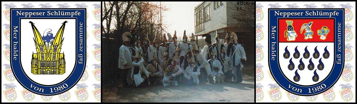 Schlümpfe Zug 1982