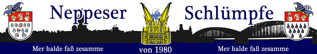 Neeppeser Schlümpfe Banner